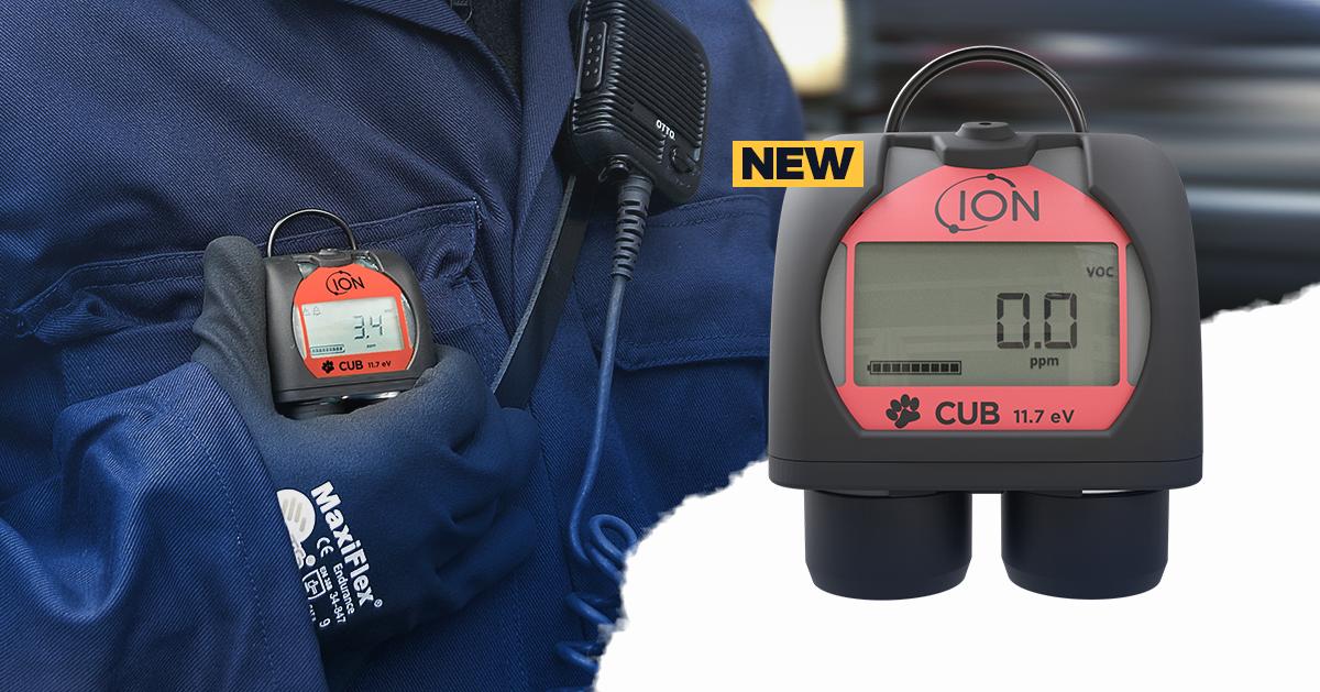 NEWCub 11.7 eV Personal Gas Detection Monitor